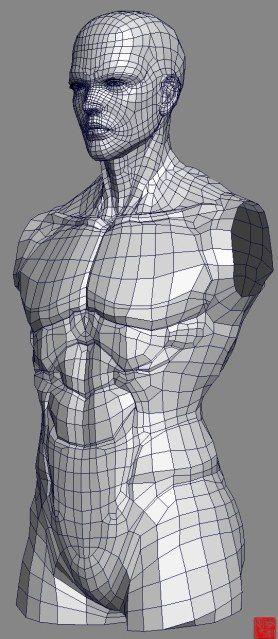 (W.I.P)Real type 3D character modeling | Leegoonz's Blog