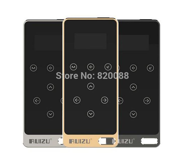 Cheap player mp, Buy Quality player philips directly from China player board Suppliers: New Ultrathin 8gb MP3 Player With 1.1 Inch Screen Touch button, Original RUIZU X05 With FM,E-Book, Free Shipping Fe