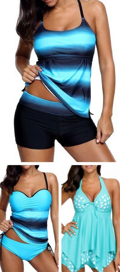 cute swimsuit, bathing suit, swimdress, tankini, swimsuit for women, modest swimwear.