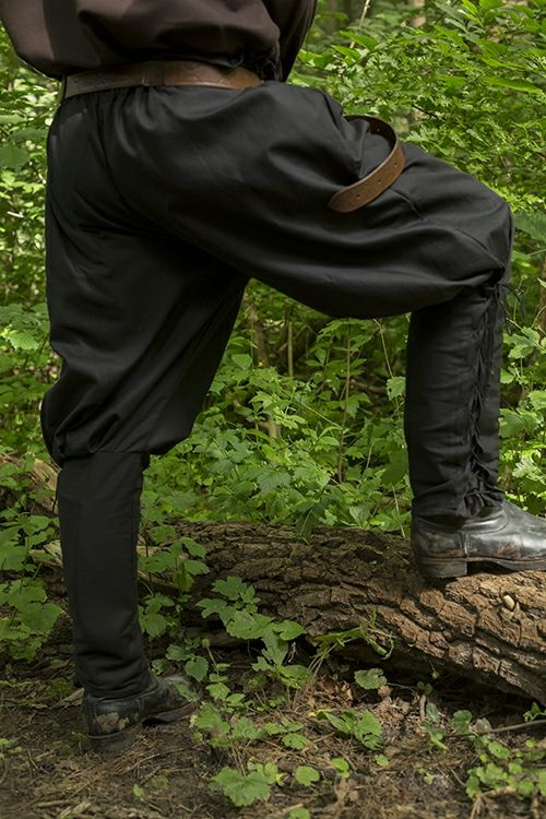 Pants Medieval - Epic Black - XL Epic Armory, Iron Fortress
