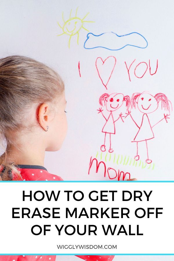 7 Effective Ways To Get Dry Erase Marker Off Of Your Wall Dry Erase Markers Dry Erase How To Get