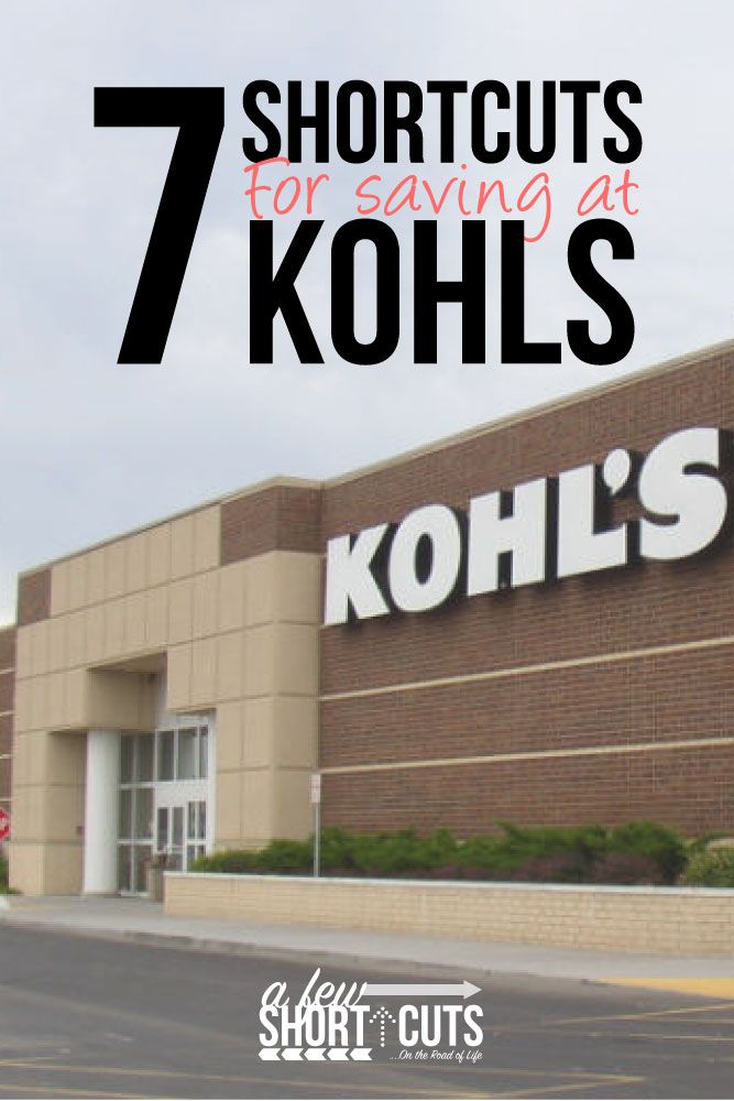 Do you love to shop at Kohls?! Check out these 7 ShortCuts for Saving at Kohls! Get the items you love for even less!