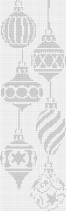 Cross-Stitch Pattern I could see myself doing. I really love it - and so simple.