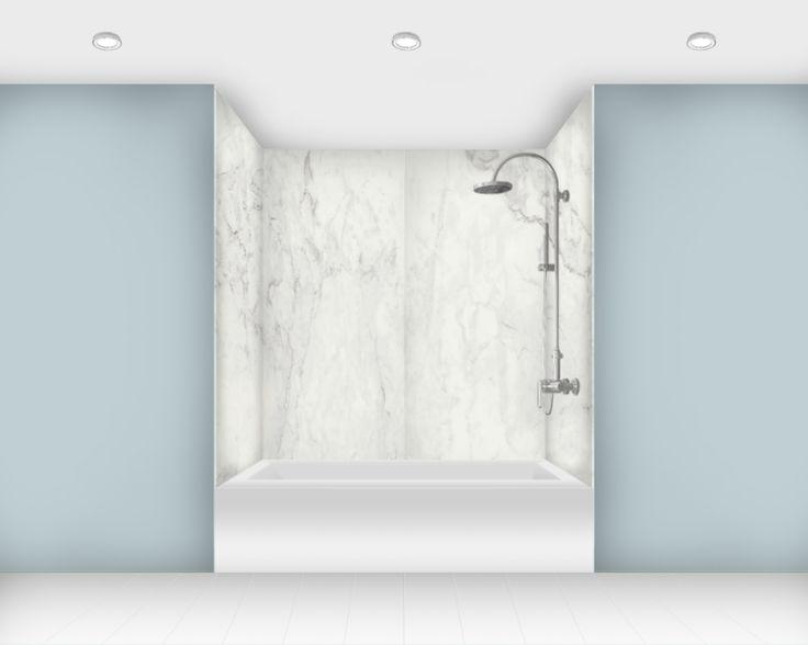 stylist bathroom surround ideas. Carrara Porcelain Tub Panels from Curava 29 best Shower Surrounds images on Pinterest  Bathtubs