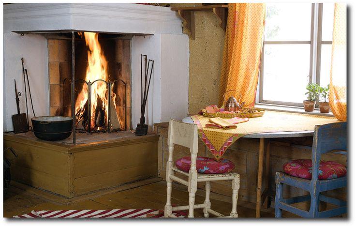 Classy! 50 Examples Of Swedish Folk Country Interiors