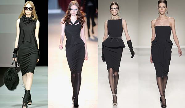 fashion for the 40 something woman - The best little black dresses ...