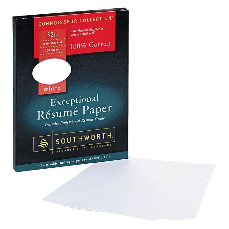 Southworth Cotton Resume Paper - Ivory - ivory resume paper