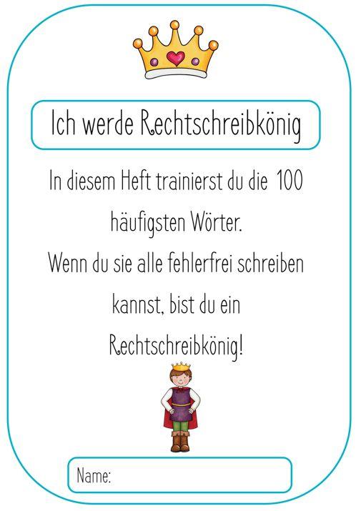 Rechtschreibtraining Grundschule