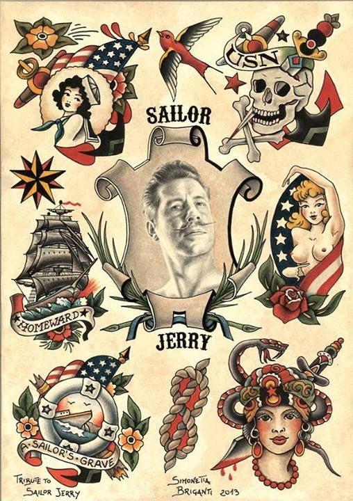 Sailor Jerry tribute - Simonetta Briganti