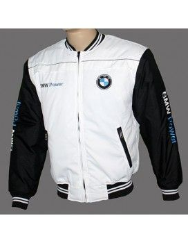 BMW White Jacket                                              Embroidered logos                                          For €38.99 from http://autofanstore.com