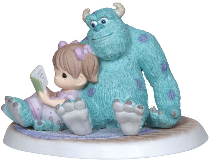 Precious Moments Sulley & Boo.. I need it!!                                                                                                                                                                                 More