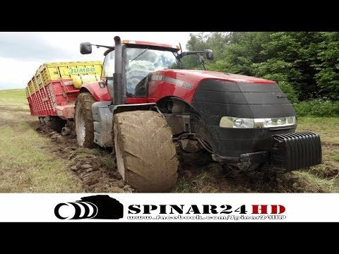Exciting Vehicle | Case IH Magnum 260 in the mud