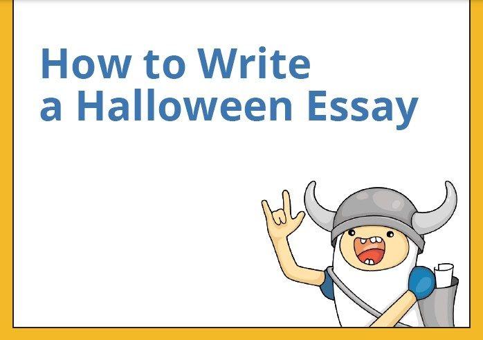 Essay Writing Halloween