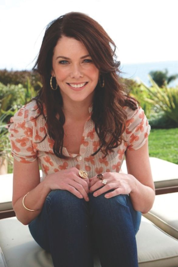 Lauren Graham On Writing, Procrastinating, and Her Favorite Authors...and i lover her hair