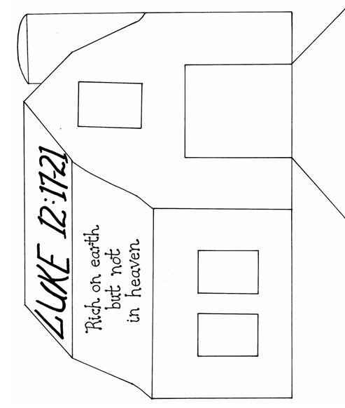 1000 images about parable of the rich farmer messy for Parable of the rich fool coloring page