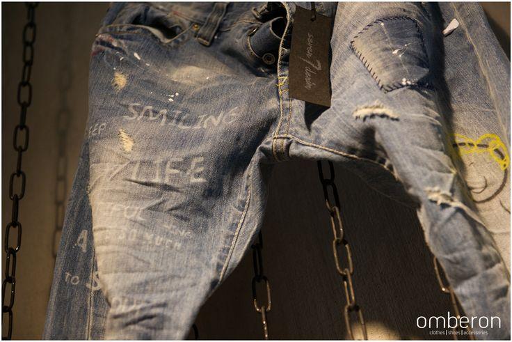 7Denim #jeans. Available #instore #Omberon. Photo © Vicky Lafazani