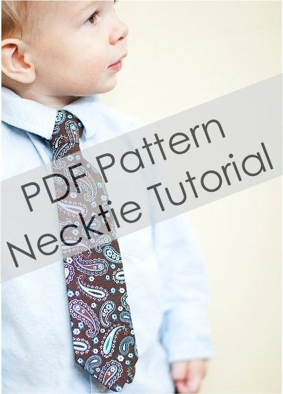 pattern necktie tutorial: Boys Ties, Sewing Projects, Pattern Necktie, Pdf Pattern, Necktie Tutorial, Little Boys, Gentleman S Closet