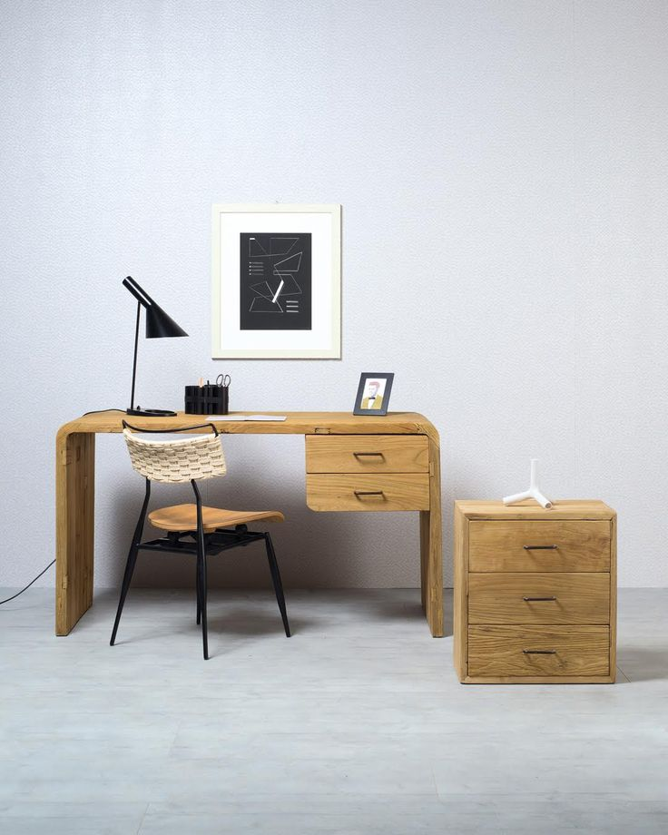 CURVY | Functionality and style, these are the main features of Curvy, the writing desk in solid antique elm signed by Nature Design. The interlock fix curved sides distinguish it and make it a truly unique and valuable piece of furniture. #NatureDesign #madeinitaly