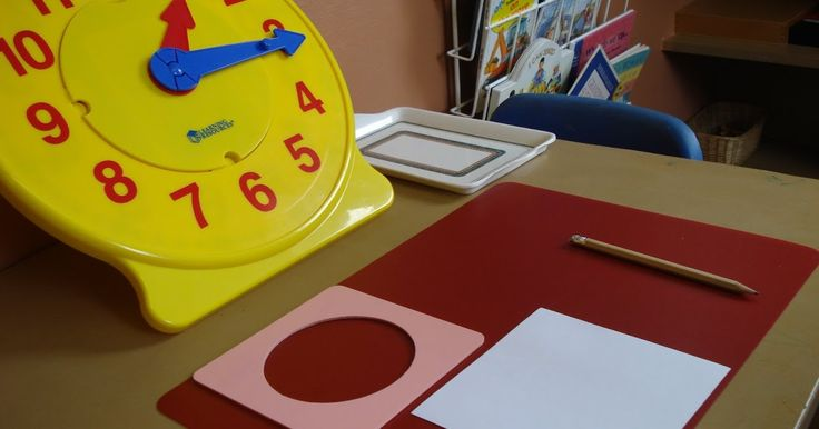Here's how we learn to tell the time. I bought this big yellow clock from Learning Resources , it has four changing faces [hour times, minu...