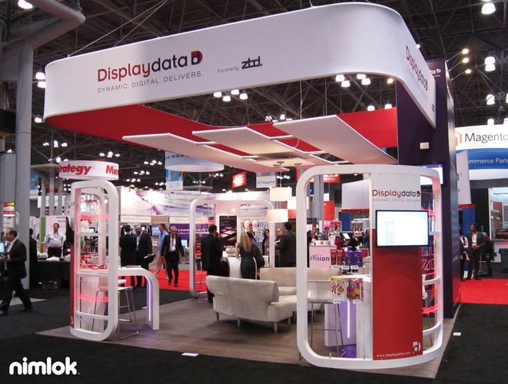 Fabric Exhibition Stand Examples : An example of a trade show booth created by nimlok