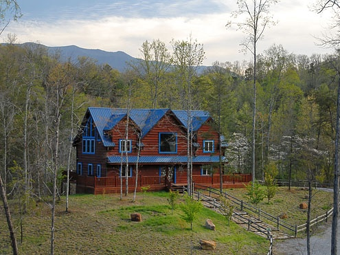 Blue Mountain Lodge 4 Bedroom 4 Bathroom Cabin Rental In Gatlinburg Tennessee Cabins