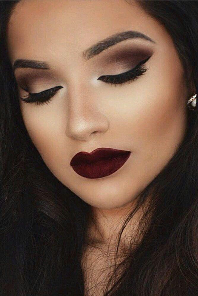 1000+ ideas about Dark Lips on Pinterest   Lips, Makeup and Lipstick