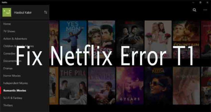 Fix Netflix App Error T1 in Windows