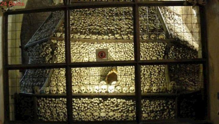 Melongok Kengerian Gereja Tengkorak Sedlec Ossuary