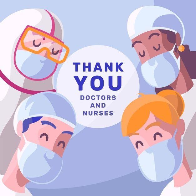 Download Thanks Doctors And Nurses For Free Nurse Nurse Cartoon Doctor
