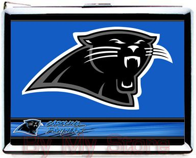 nfl panthers magnets | NFL Carolina Panthers CIGARETTE CASE WALLET CARD HOLDER LIGHTER A084 ...
