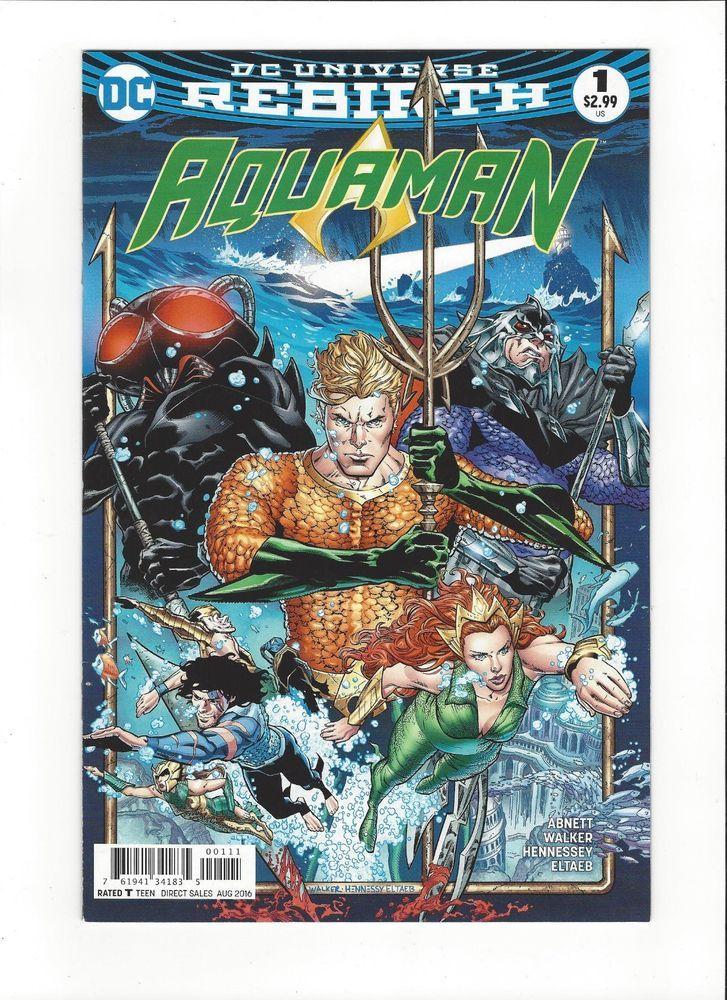 Aquaman Rebirth #1 Variant DC Universe Rebirth 2016