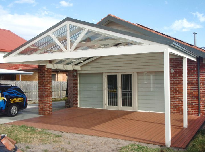 19 best carports images on pinterest carport garage for Pitched roof design plans