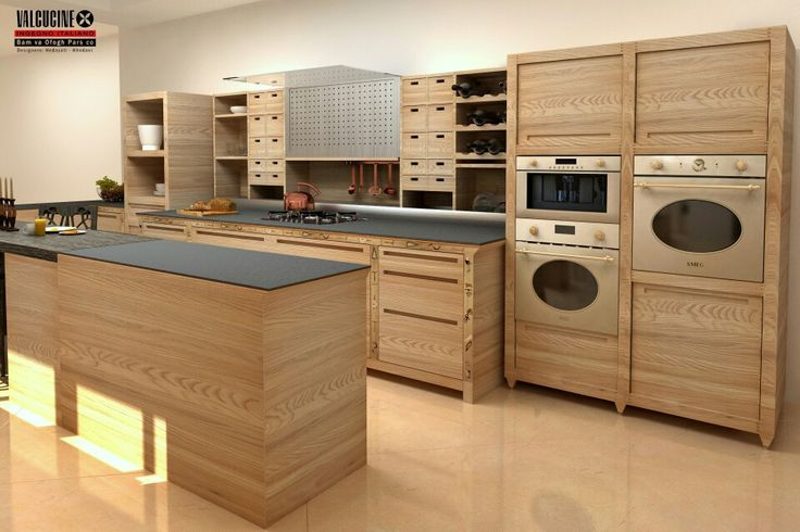 Sine tempore + smeg colonial appliances | Valcucine Kitchen ...