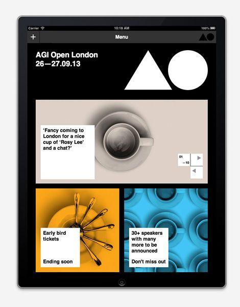 AGI Open website