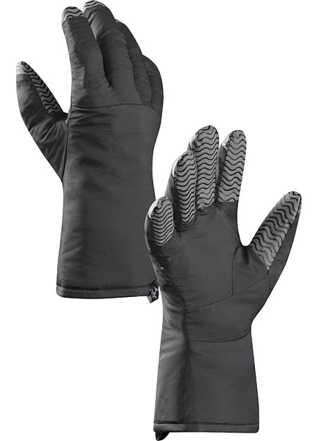 Atom Glove Liner Insulated Primaloft® liner gloves with enhanced grip control. For use inside a shell glove or as a light duty standalone.