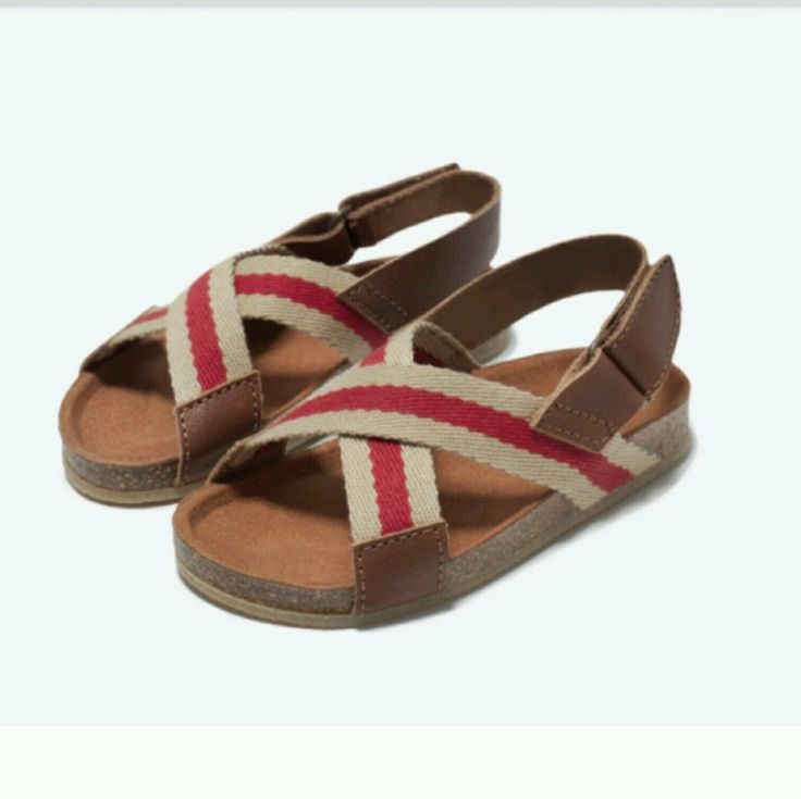 Zara baby boy sandals shoes size 2 US 18 EUR