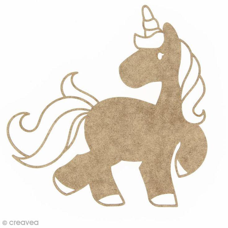 Compra nuestros productos a precios mini Unicornio de madera para decorar - 15 cm - Entrega rápida, gratuita a partir de 89 € !