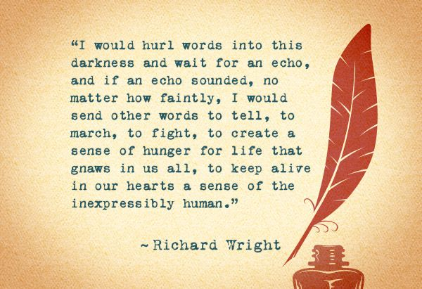 the context of richard wright and Ry in the wartime writing of richard wright and ralph ellison it rereads this  for  most of flying home, todd lies injured on what is, in this historical context.