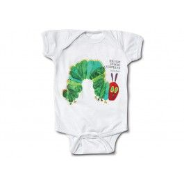 The Very Hungry Caterpillar Onesie   read them a story and tuck them to sleep in this super cute onesie!