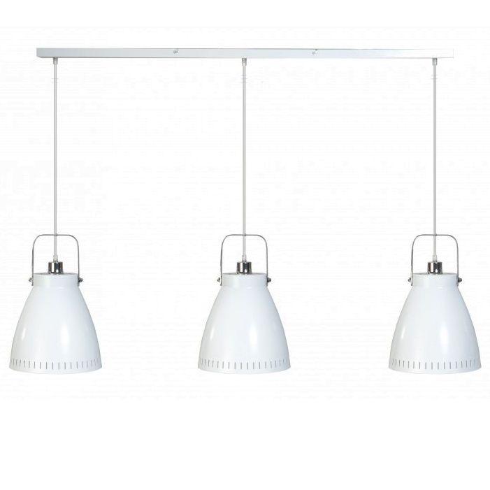 Hanglamp Boven Keuken : Industriele hanglamp ? drie kappen ? balk ? wit