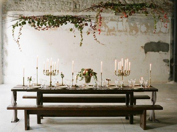 Industrial Wedding Style www.kokkinos-flowers.gr