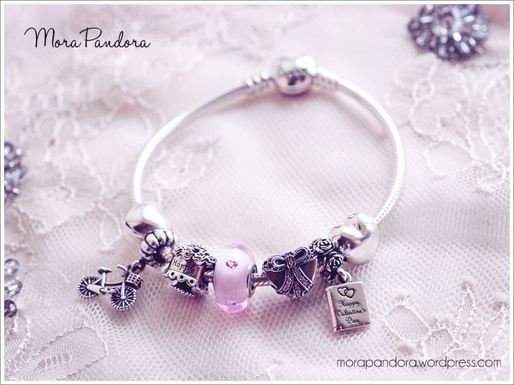 review heart clasp bracelet from pandora valentines 2015