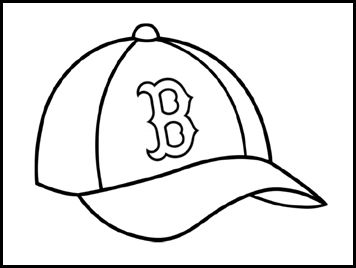 53 best baseball 4 kids images on pinterest 4 kids for Red sox coloring pages free