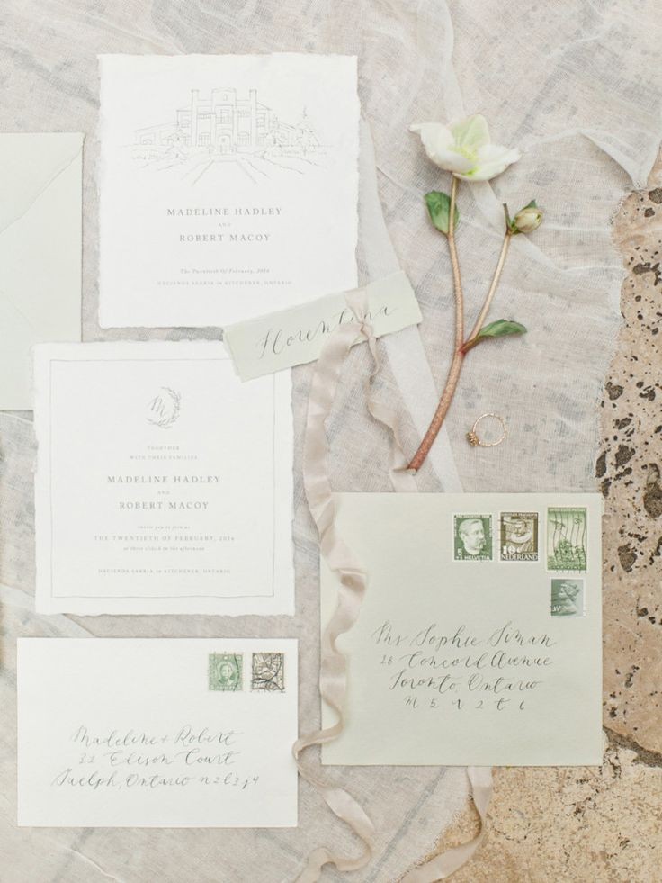 Magnolia Rouge | Hacienda Sarria, Ontario | Katie Nicolle Photography | All Things Lovely Paper Co. | Wedding Inspiration, Spanish, European, Italian, Fine Art, Calligraphy, Wedding Invitations, Place Card, Escort Card, Vintage Stamps, Wax Seal, Classic, Romantic