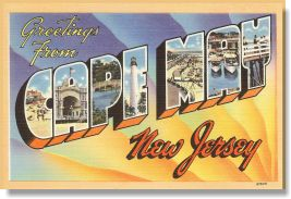 Vintage Greetings From Vintage Postcards New Jersey, Florida