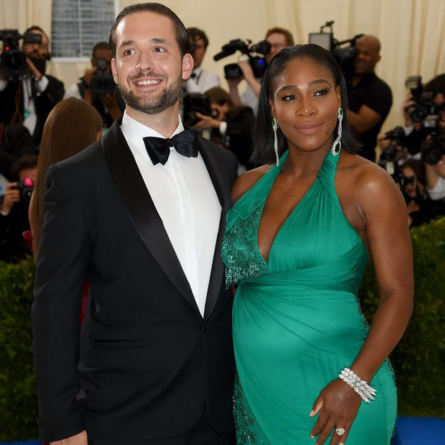 Serena Williams, Her Bump And Fiancé Alexis Ohanian Bring Love To The Met Gala Red Carpet from essence.com