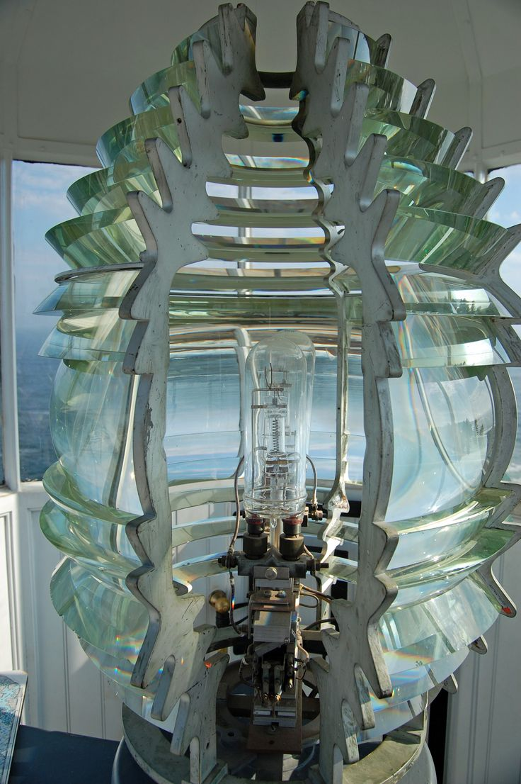 Maine... the inside of a lighthouse :)