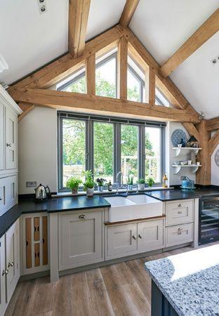 meadow cottage - Border Oak - oak framed houses, oak framed garages and structures.