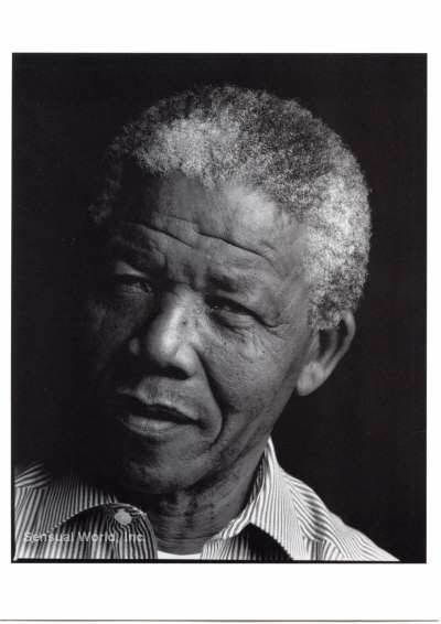 'I'm not a saint, unless a saint is a sinner that keeps on trying.' Nelson Mandela