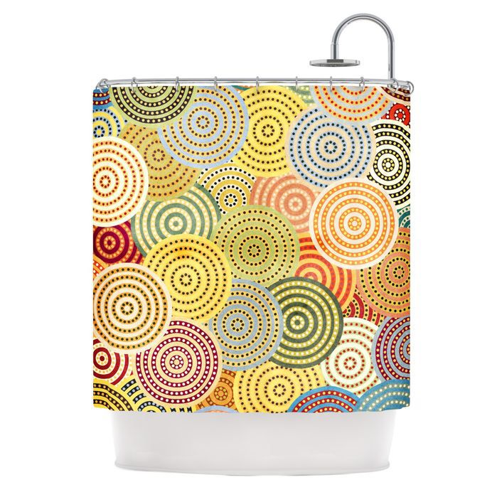 ... Matias Girl Shower Curtain | Girl Shower, Shower Curtains and Curtains